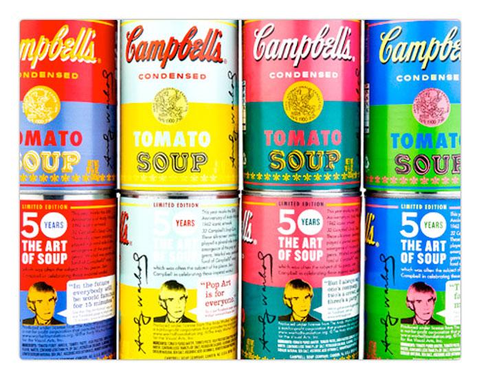 Branding by Warhol