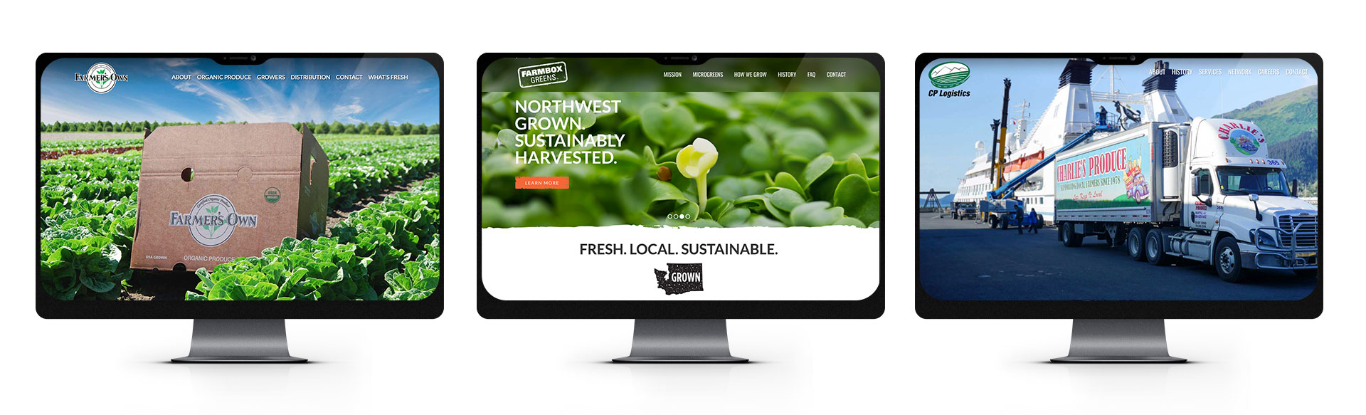 Charlie's Produce Company Website | Seattle Marketing Agency | CMA