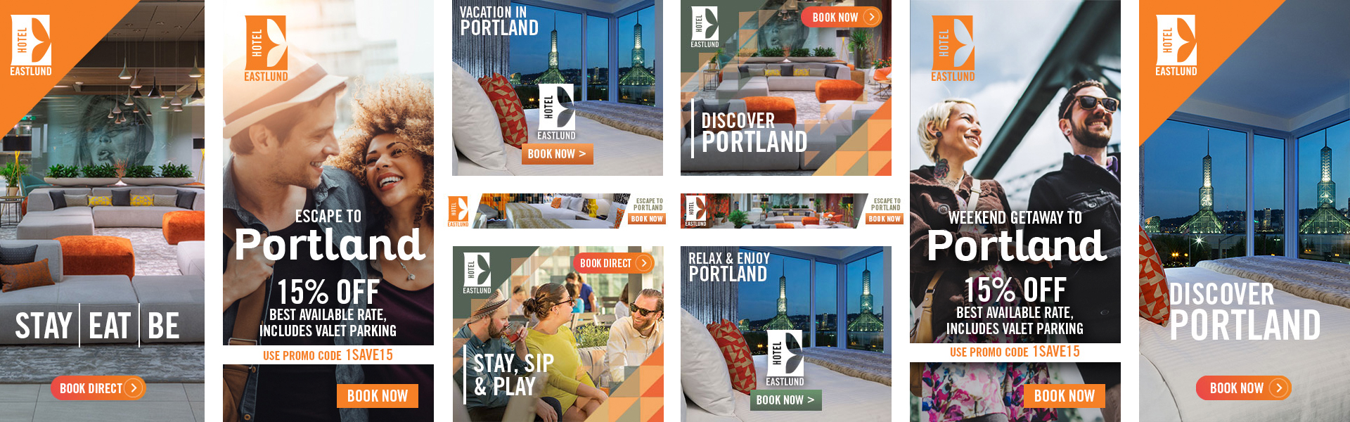Hotel Eastlund Digital Ads | Seattle Marketing Agency | CMA