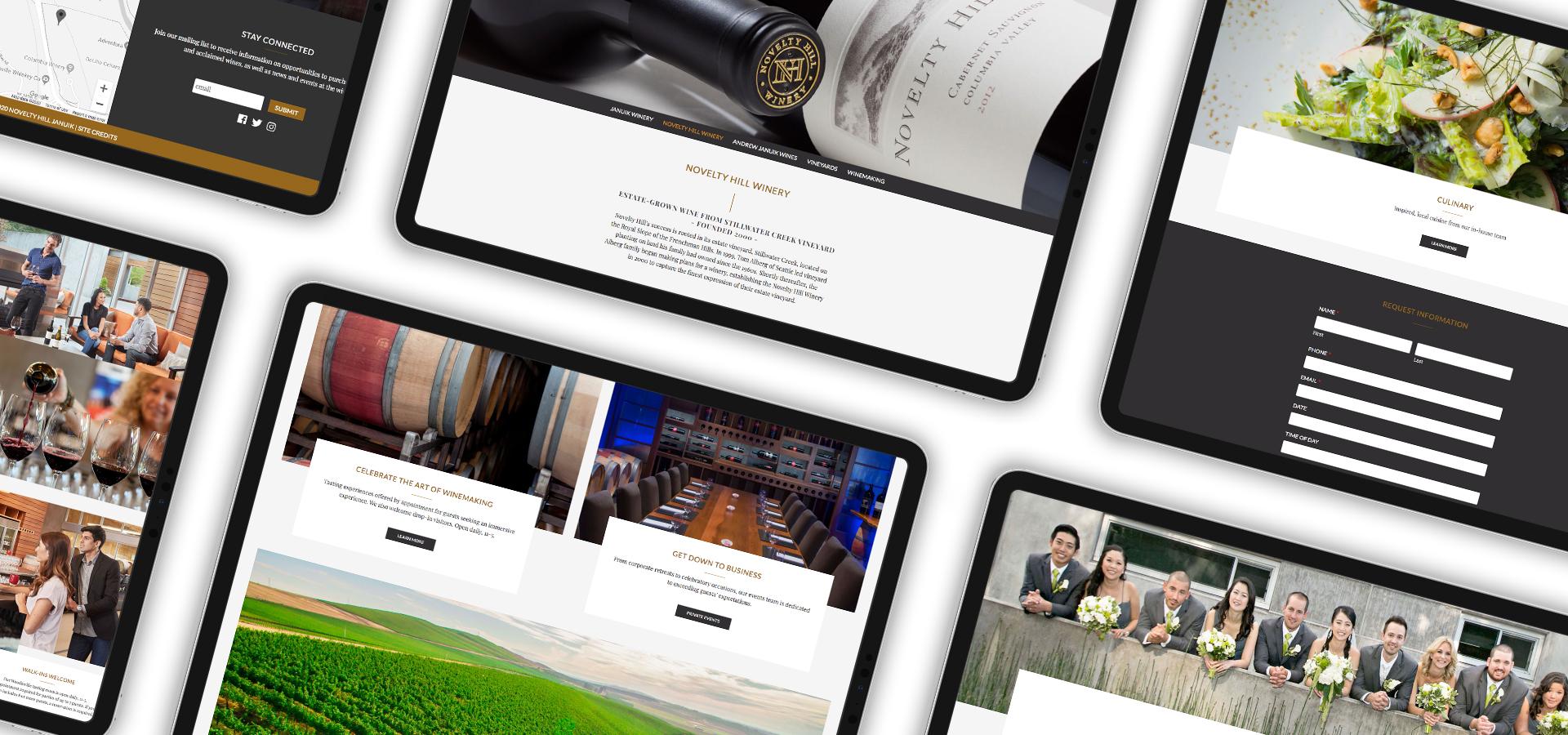 Novelty Hill-Januik Website layouts | Seattle Marketing Agency | CMA