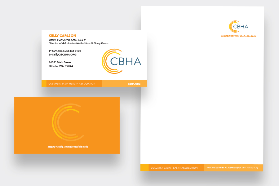 Columbia Basin Health Association Identity System | CMA