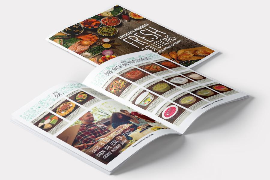 Charlie's Produce Catalog Design | Seattle Marketing Agency | CMA