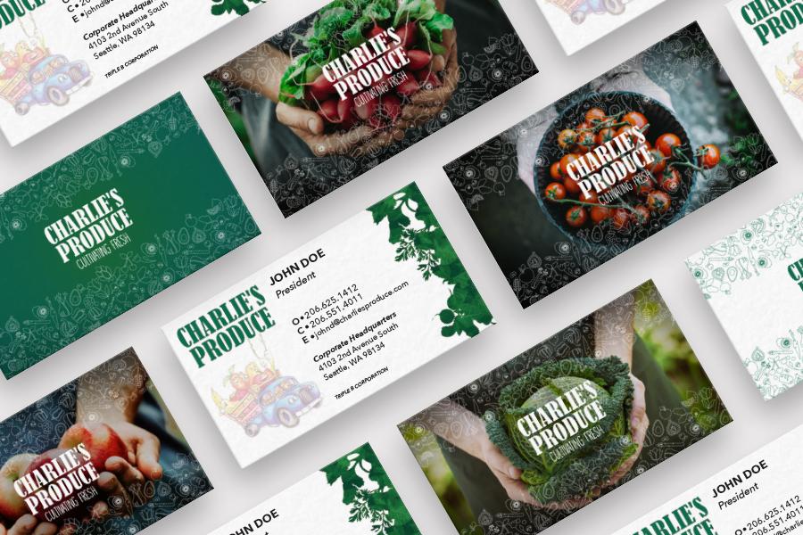 Charlie's Produce Identity System | Seattle Marketing Agency | CMA
