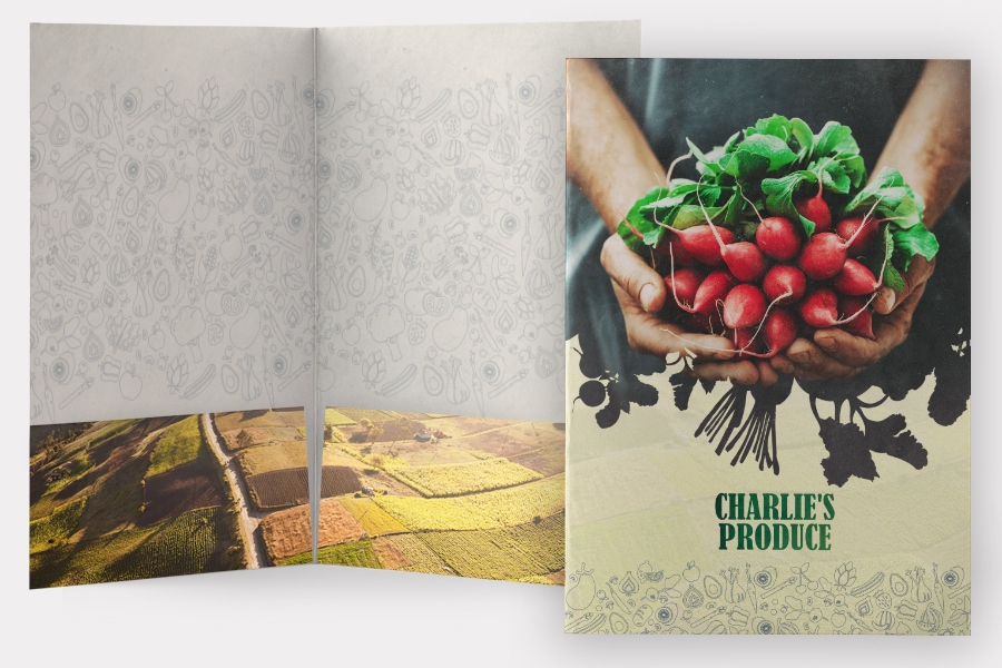 Charlie's Produce Marketing Collateral | Seattle Marketing Agency | CMA