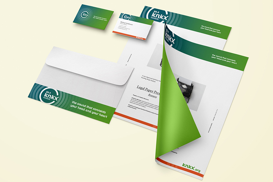 KNKX Identity System | Seattle Digital Marketing Agency | CMA