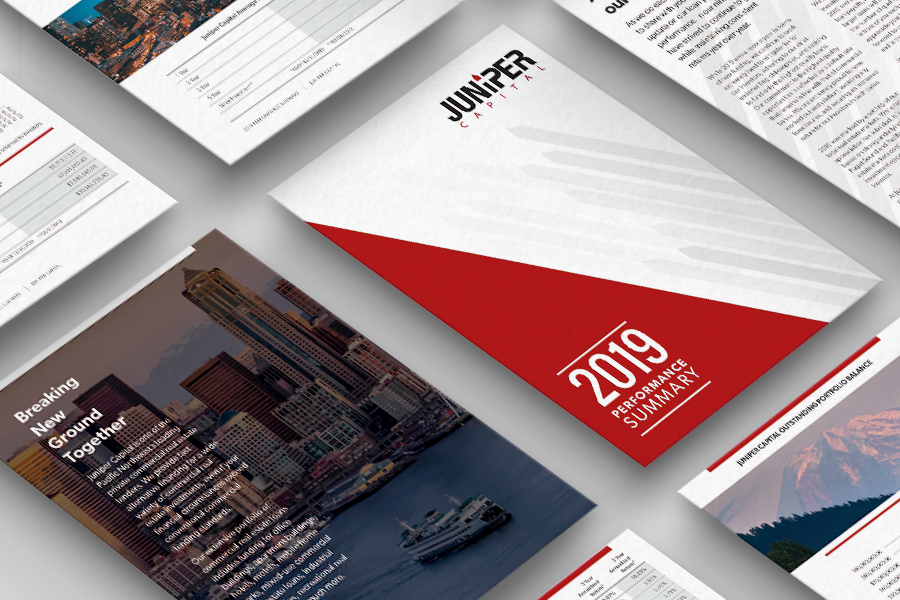 Juniper Print Collateral | Seattle Digital Marketing Agency | CMA