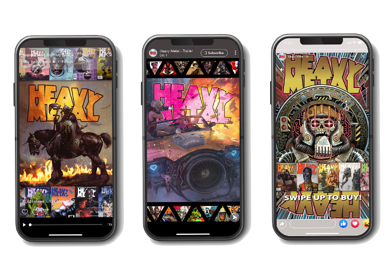 Mobile Optimized Heavy Metal Ads